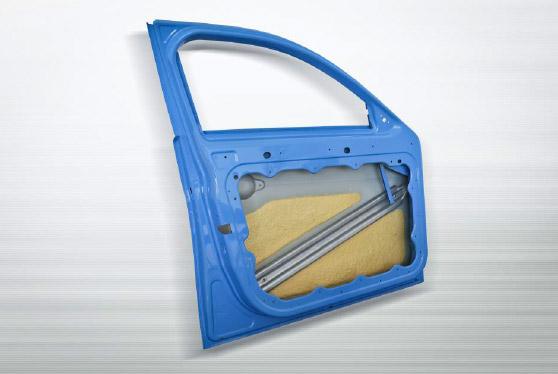 InCar®plus-Türmodul mit PUR-verstärkter Außenhaut