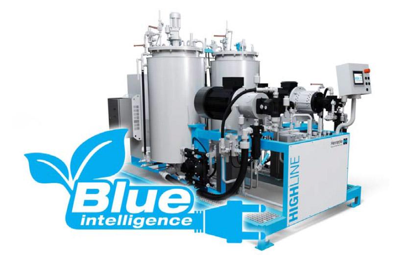 Blue Intelligence: Deutlich reduzierte Energiekosten im Reaktionsgießmaschinensektor