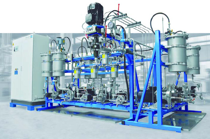 LABFOAM ermöglicht Entwicklung innovativer Rezeptur en und diverse Versuche auch in geringen Mengen produktionsgerecht und mit hervorragender Qualität