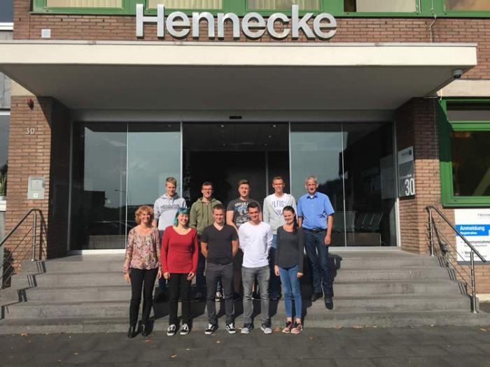 """""""Entdecke deine Möglichkeiten"""" – Tag der Berufsausbildung bei Hennecke"""