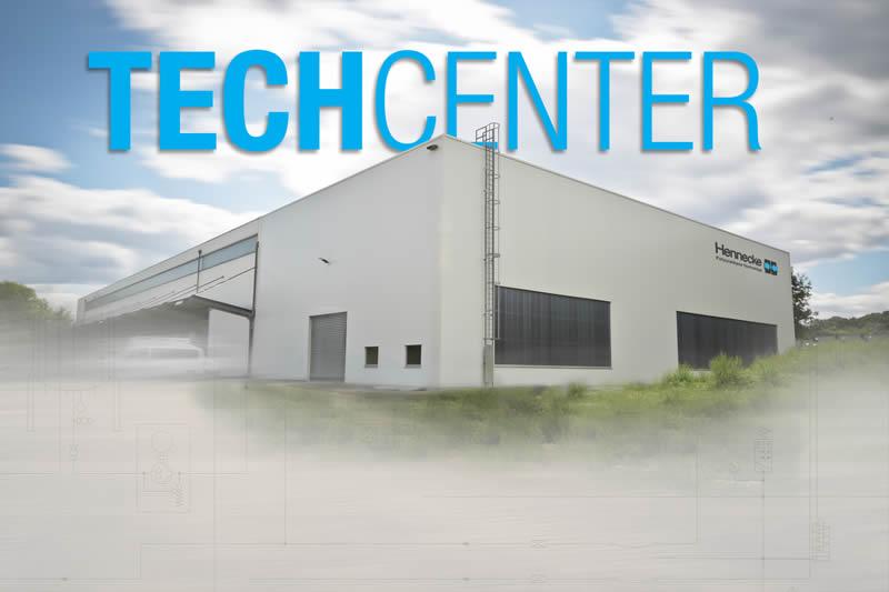 Modernste Polyurethan-Verarbeitungstechnik auf mehr als 1000 m²: das neue Hennecke-TECHCENTER
