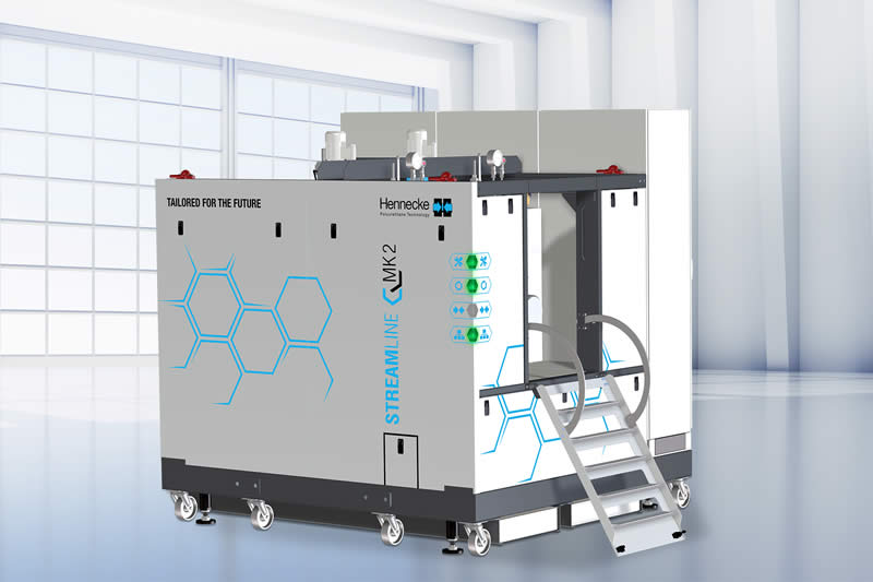 Shortly before market launch: the second generation of the successful STREAMLINE metering machines comes with numerous features
