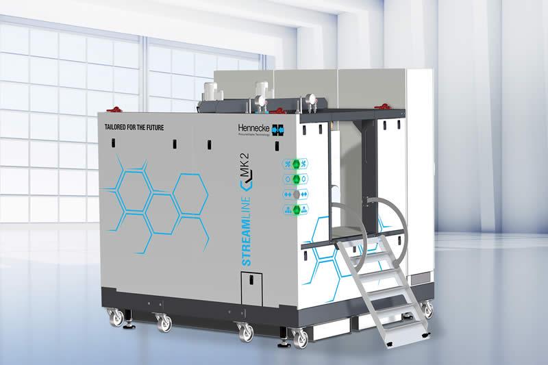 Kurz vor dem Marktstart: die zweite Generation der erfolgreichen STREAMLINE-Dosiermaschinen kommt mit zahlreichen Features