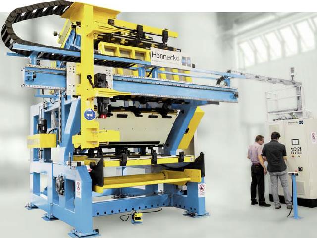 Der neue ROTAMAT EM, eine modulare Variante der Baureihe, angetrieben ausschließlich durch Elektromotoren